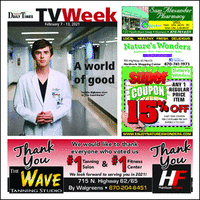 TV Listings - Harrison Daily Times